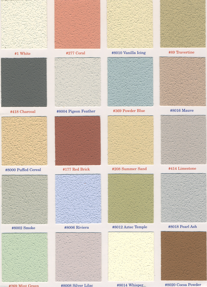 CALIFORNIA STUCCO COLORS 2